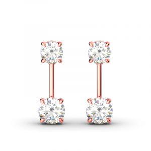 Jeulia Humble Elegance Drop Earrings