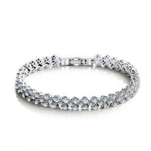 Jeulia Classic Shining Bracelet