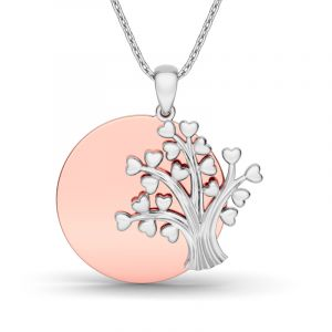 Jeulia Mother's Love Heart Pendant