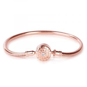 Rose Gold Tone Classic Bracelet
