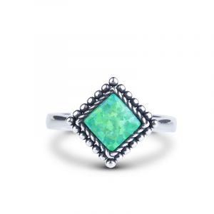 Jeulia Fairy Princess Opal Ring