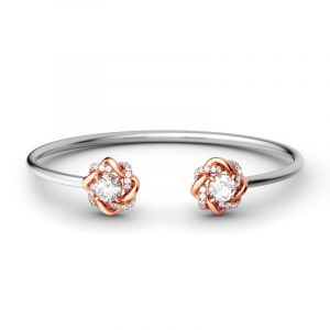 Jeulia Knot of Love Bangle