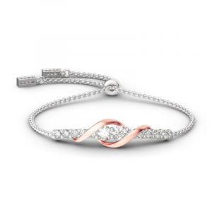 Jeulia Never Apart Bracelet