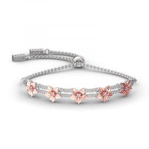 Jeulia Full Blossom Bracelet