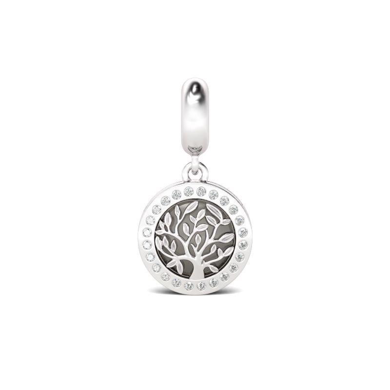 Follow your dreams family tree pendant sterling silver jeulia jewelry follow your dreams family tree pendant sterling silver aloadofball Gallery