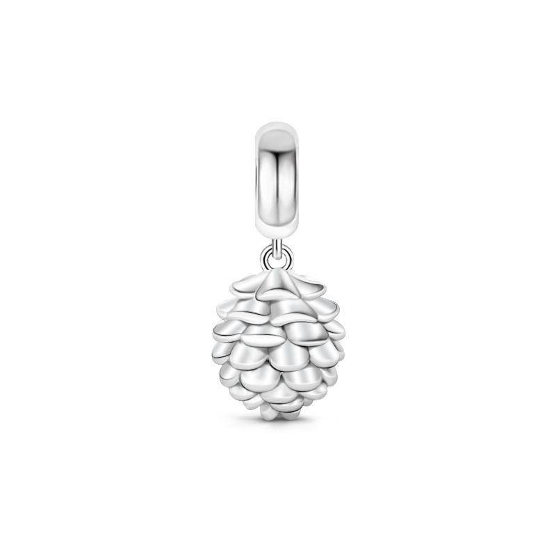 Pine nut pendant sterling silver jeulia jewelry pine nut pendant sterling silver aloadofball Gallery