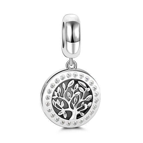 e648f7c1c Follow Your Dreams Family Tree Pendant Sterling Silver - Jeulia Jewelry