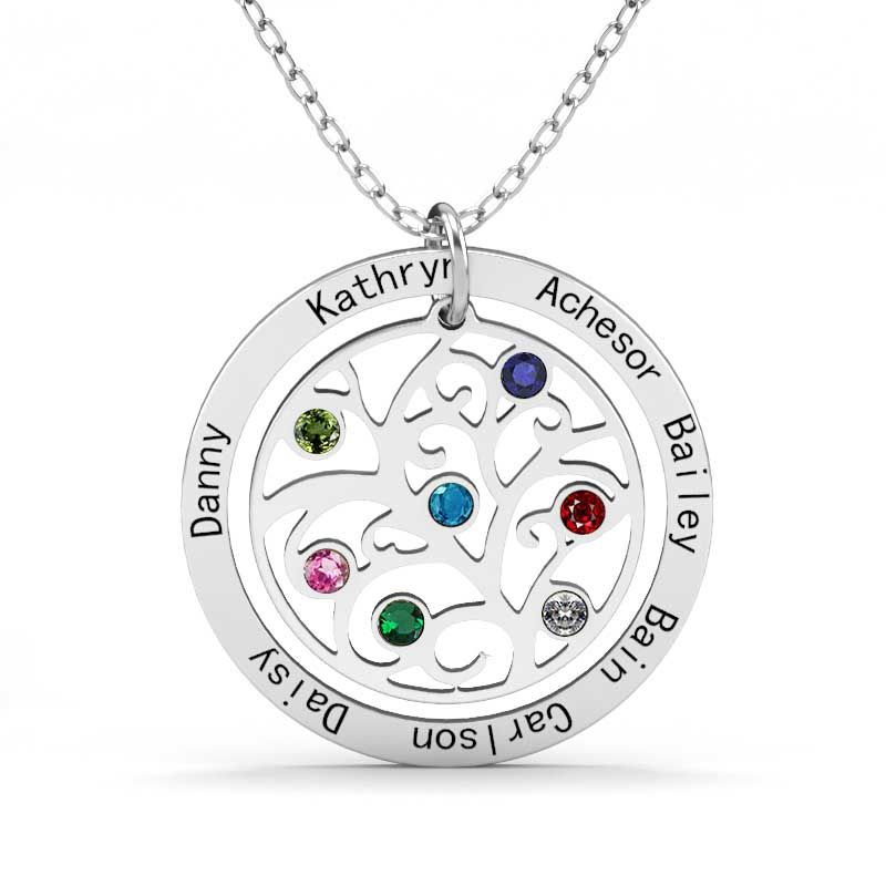 necklace family products tree of gold copy silver mia jewelry forever are belleza families