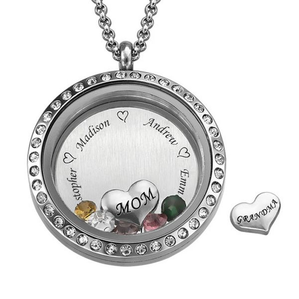Locket Necklace With Charms Inside Australia Necklace Wallpaper