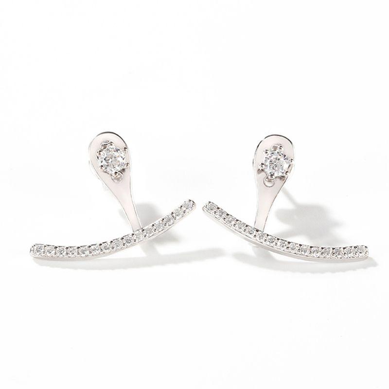 8b83abef9 Classic Sterling Silver Ear Jackets - Jeulia Jewelry