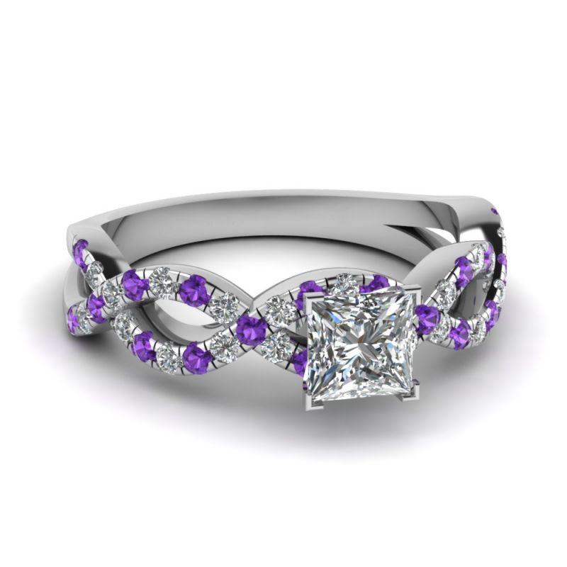 46d64f910d75d Princess Cut Sterling Silver Ring
