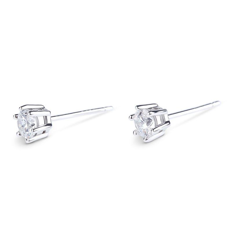 dfc532192 Simple Crown Sterling Silver Stud Earrings - Jeulia Jewelry