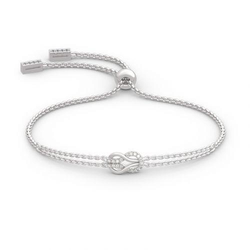 Infinity Love Sterling Silver Bracelet