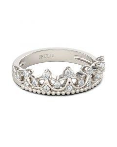 Cute Crown Sterling Silver Ring