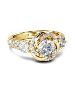 Jeulia Simple Style Copper Men's Cufflinks