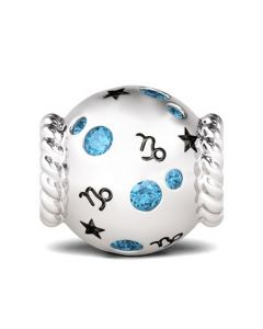 Capricorn Charm Sterling Silver
