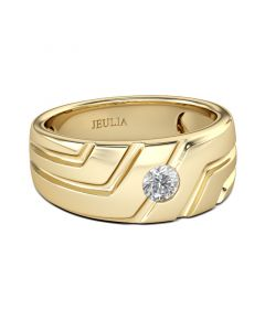 Asymmetric Men's Ring