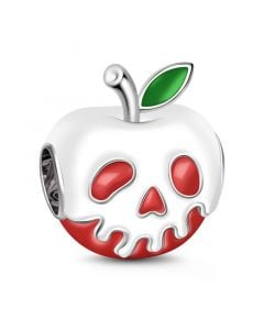 Apple Charm Sterling Silver