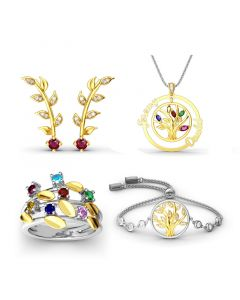 Tree of Life Sterling Silver Jewelry Set