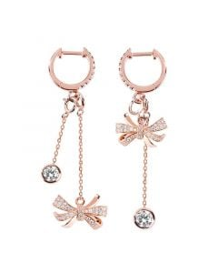 Jeulia Knot Mismatched Earrings