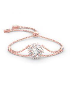 Jeulia Sunshine Round Cut Sterling Silver Bracelet
