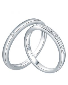 Sterling Silver Couple Rings