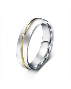 Two Tone Stainless Steel Men's Band