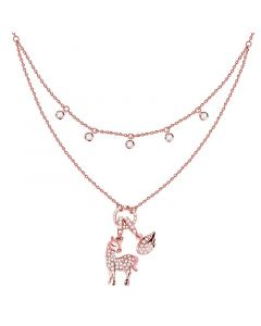 Layered Unicom Sterling Silver Necklace
