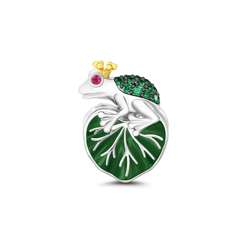 Buy The Frog Prince Charm Sterling Silver, BPCS80 for $29.00 in Jeulia store